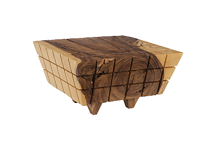 Cubed Coffee Table Natural