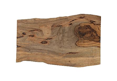 Wood Desk Black Legs