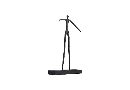 Moveable Man On Short Shelf , Standing
