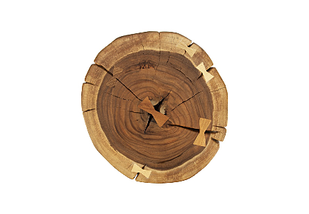 Round Wood Stool Assorted Styles