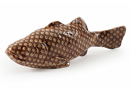 Patterned Fish Accent LG