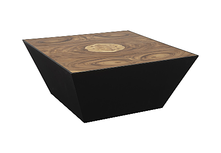 Trapezoid Coffee Table