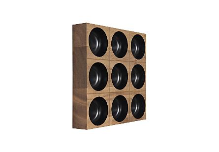 Puka Wall Tile 3x3 Black