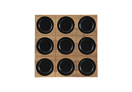 Puka Wall Tile 3x3 Black