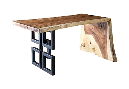 Austin Desk Chamcha Wood