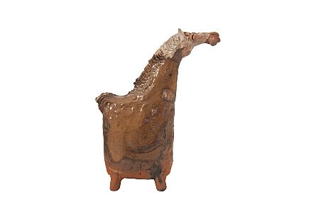 Tall Horse Clay Animal