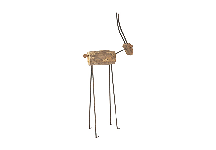 Gazelle Carved Animal