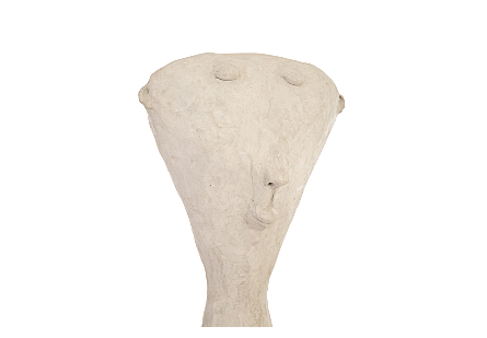 Big Head Concrete Sculpture, Assorted Size, Shape, Style