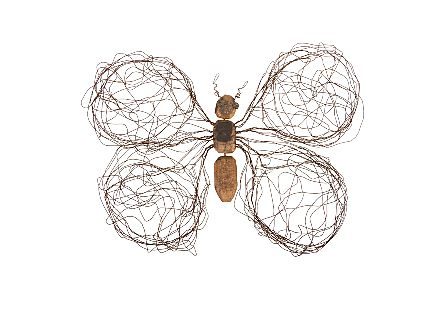 Wire Wing Butterfly LG