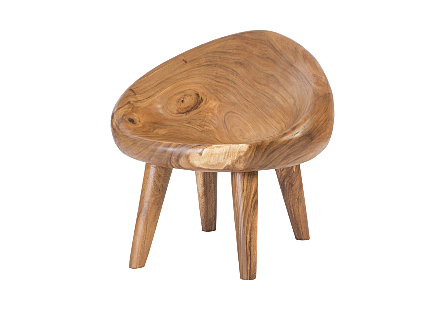 Chamcha Wood River Stone Chair Assorted