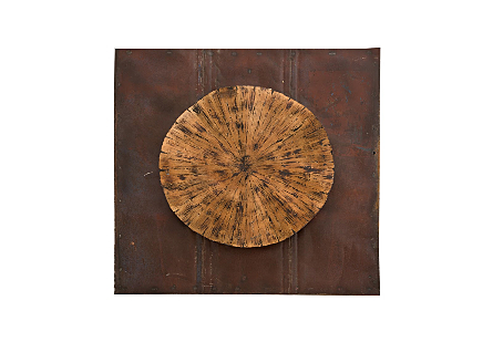 Medallion Wall Art Amber