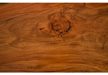 Burled Wood Coffee Table