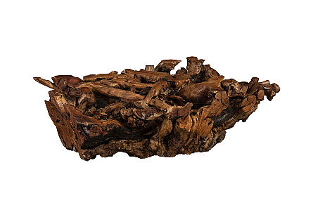 Pradoo Burled Wood Coffee Table