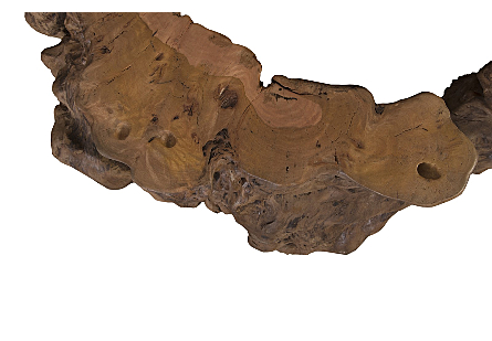 Mai Theng Burled Wood Coffee Table