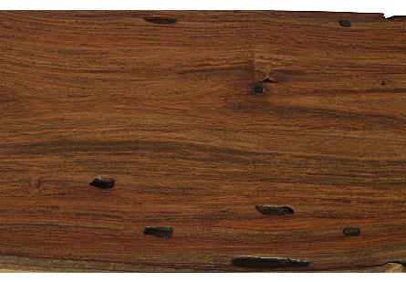 Pradoo Burled Wood Console SS Legs