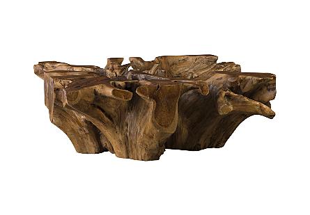Teak Wood Coffee Table Square