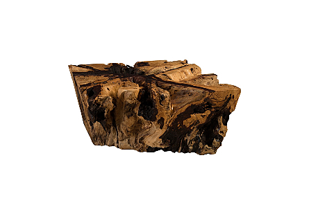Chamcha Wood Thick Coffee Table Square
