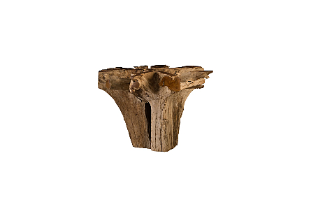 Teak Root Bar Table Round