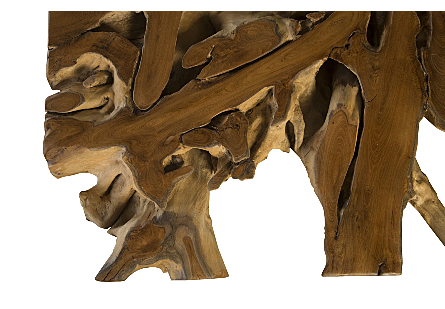 Teak Root Dining Table Square