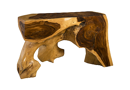 Chamcha Wood Console Table SM