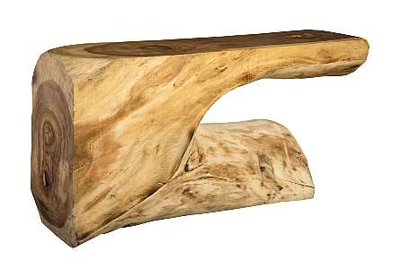 Chamcha Wood Console Table MD