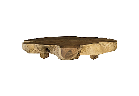 Live Edge Dining Table, Chamcha Wood Round