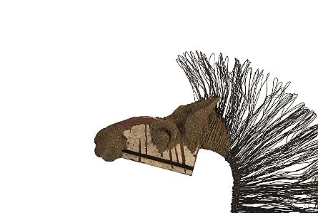 Wire Horse Sculpture LG