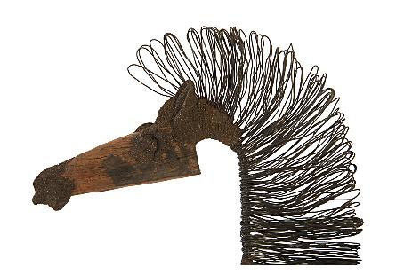 Wire Horse Sculpture SM Body