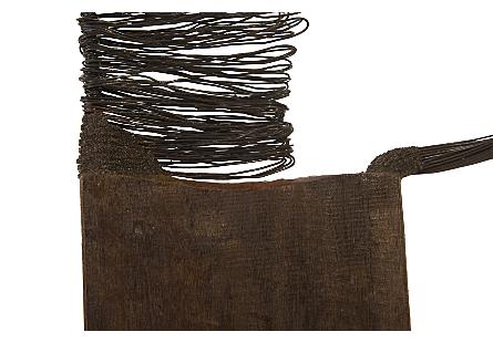 Wire Horse Sculpture Big Body