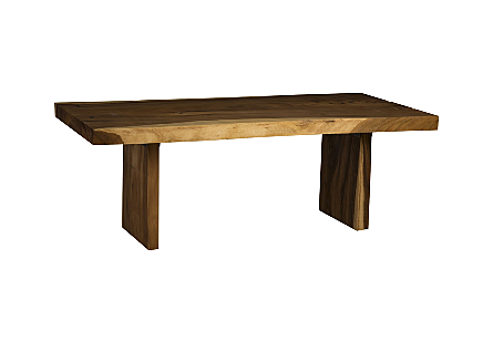 Chamcha Wood Dining Table Wood Legs