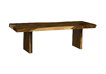 Chamcha Wood Dining Table Wood Legs
