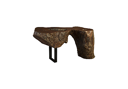 Mai Theng Wood Console Table
