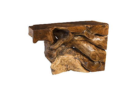 Chamcha Wood Console Table XS