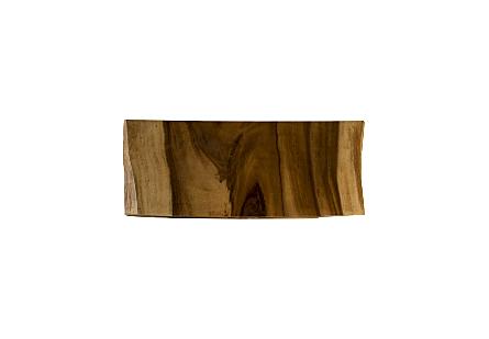 Chamcha Wood Freeform Console
