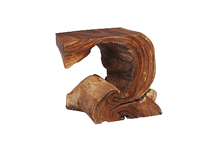Chamcha Wood Console Table Natural