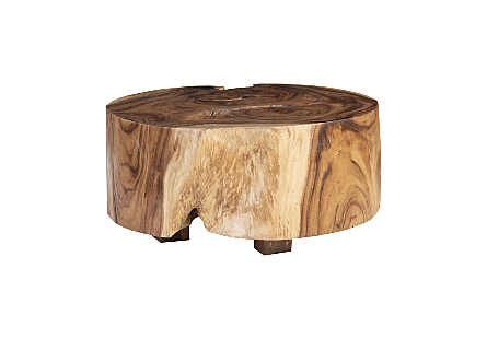 Chamcha Wood Thick Coffee Table