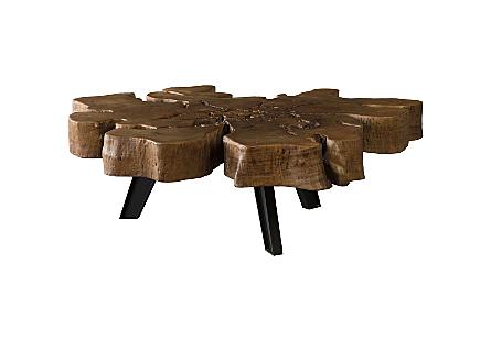 Pipal Freeform Coffee Table Jingjoe Legs