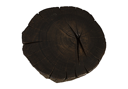Black Wood Stool, Assorted