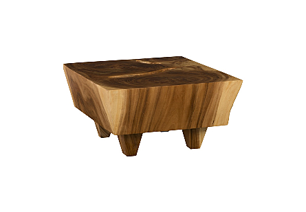 Tabitha Coffee Table Small, Chamcha Wood, Natural