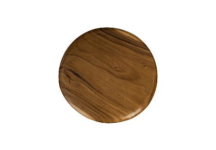Chamcha Wood Bar Table Four Metal Legs