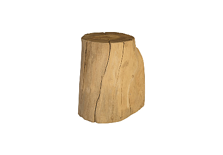 Wood Round Stool Assorted