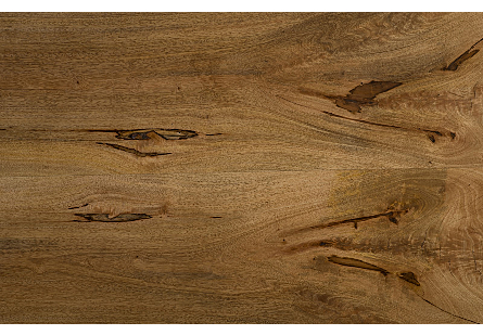 Live Edge Dining Table, Wood Metal U Legs