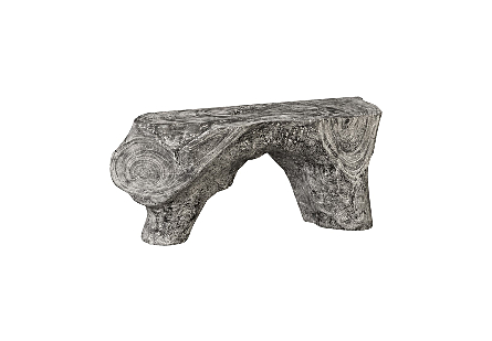 Chamcha Wood Bench Grey Stone