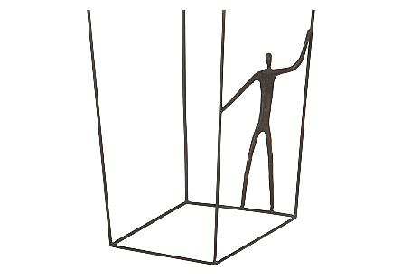 Perspective Wall Art Rectangular, Standing Right
