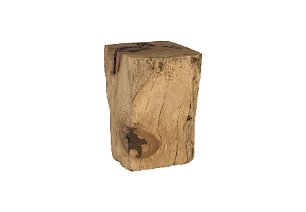 Wood Square Stool