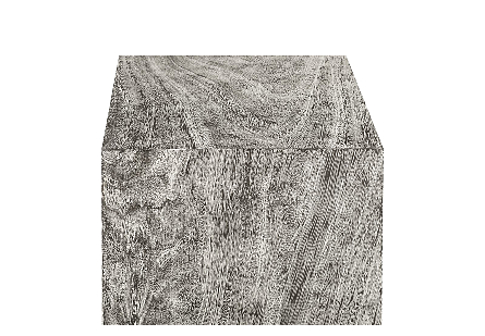 Origins Pedestal Mitered Chamcha Wood, Grey Stone, SM