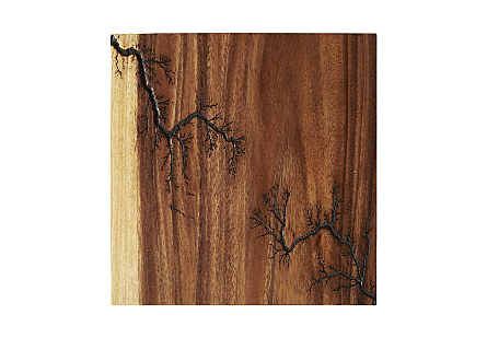 Lighting Wall Tile Chamcha Wood, SM
