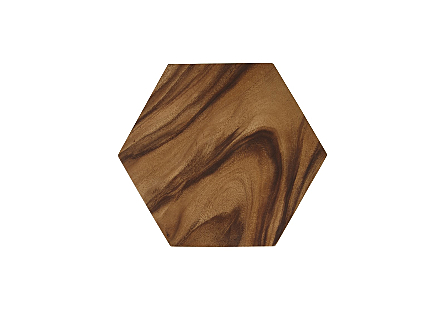 Honeycomb Side Table Chamcha Wood, SM