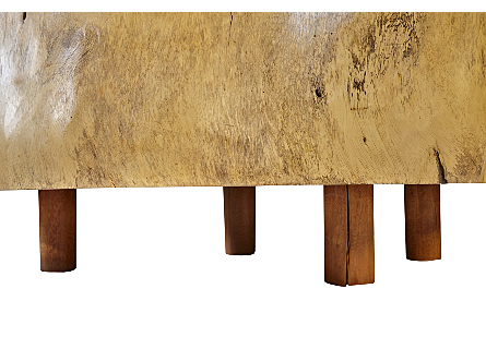 Freeform Chamcha Wood Coffee Table