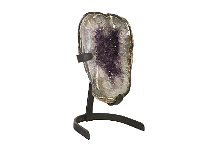 Amethyst Sculpture on Stand MD, Assorted